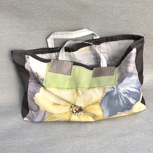 Eco Bag IV - recycled fabric samples 55W cm x 35H cm no lining