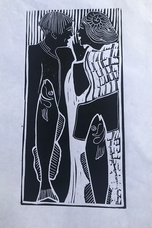 Fish Wives Print