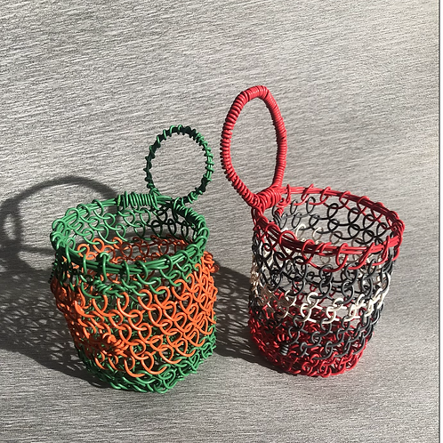 Small Loopy net baskets