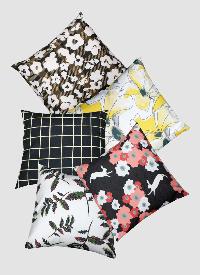 Patterned Pillows 1