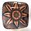 Thumbnail: Platter - terracotta decorated 50 cm x 40cm