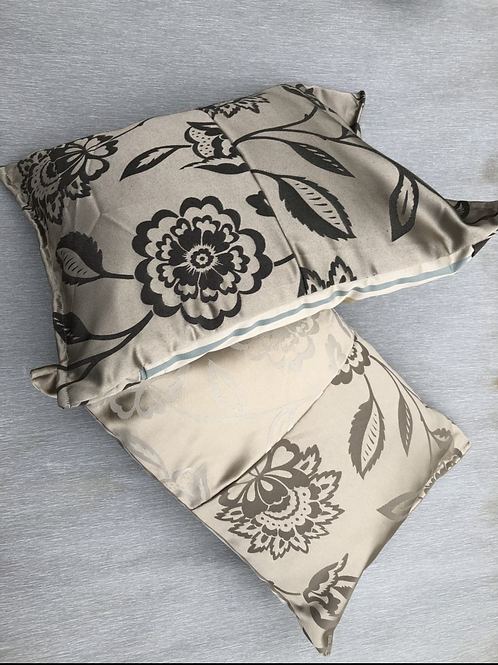 Cushions - recycled fabric samples 46 W cm x 35