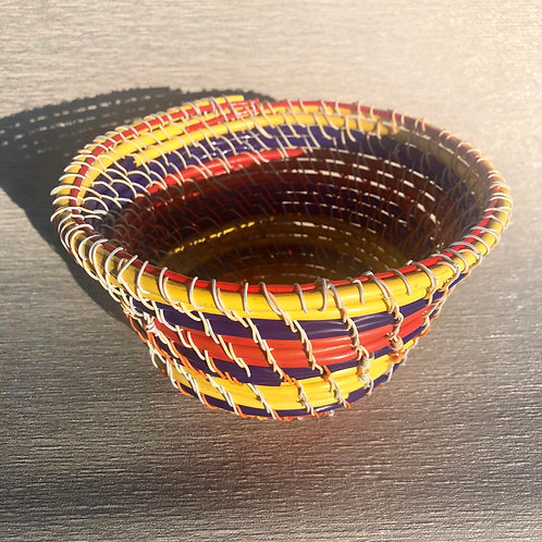 Bowl - recycled cable and wire