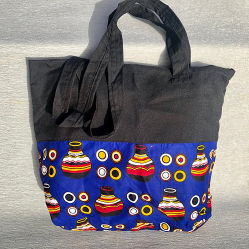 Patricia's African Bag IV - cotton 40 Wcm X 40 Hcm