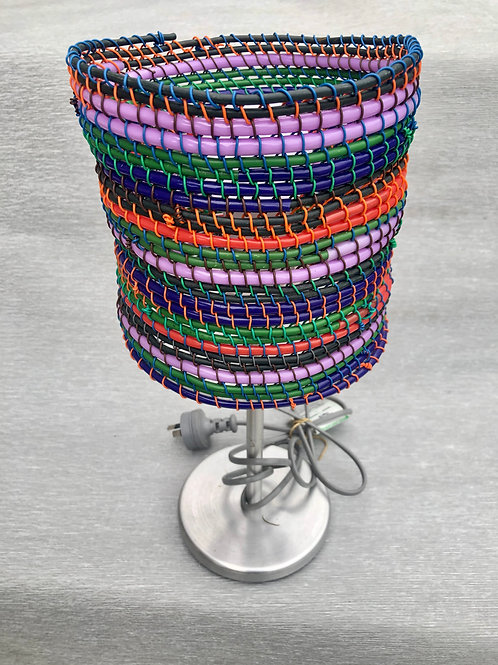 Recycled Light I - recycled cable, wire 36 H cm x 17W cm