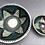 Thumbnail: Small and Big Bowl Set - terracotta decorated