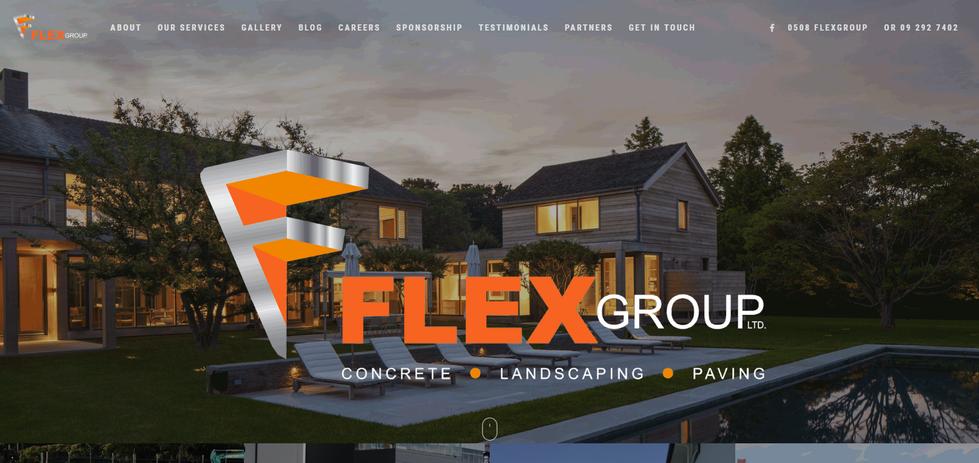 Flex Group Website