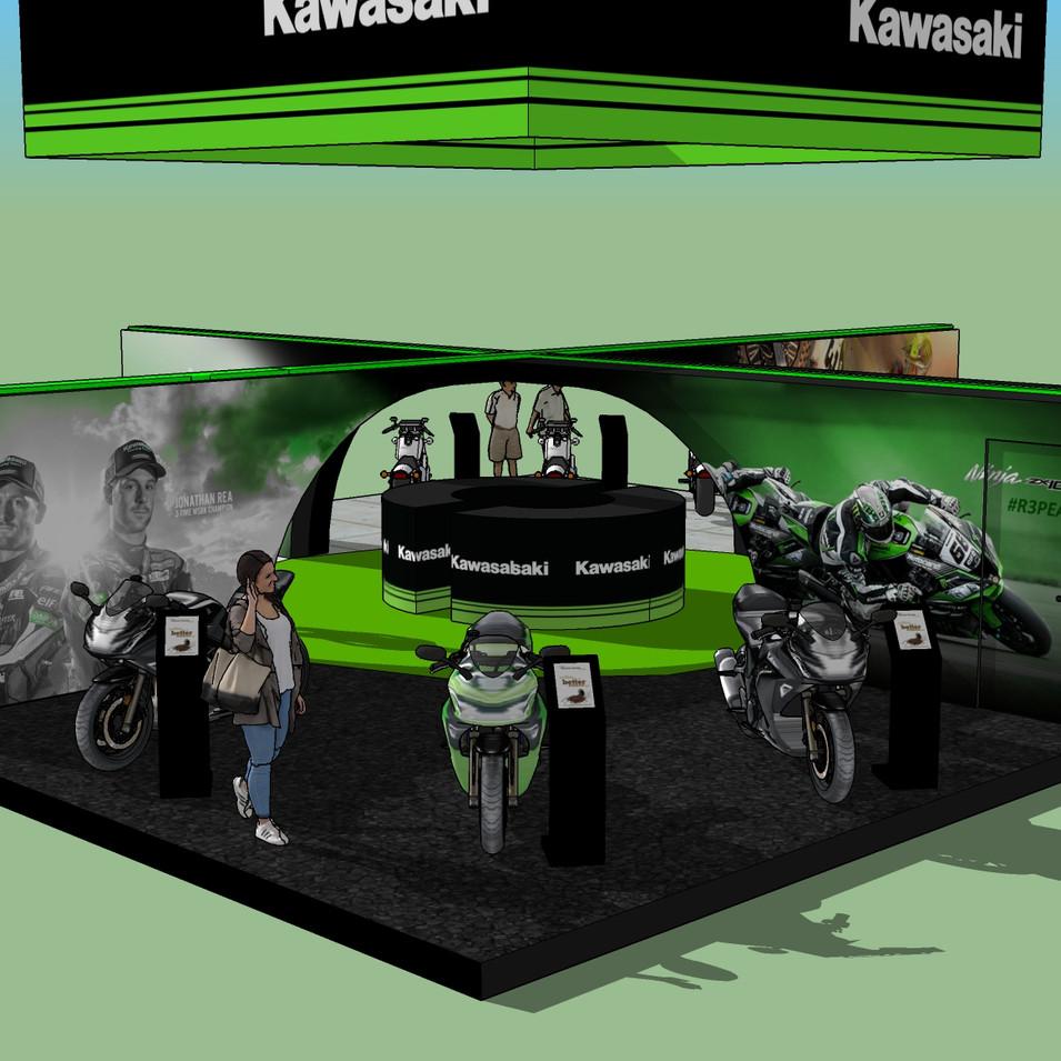 Kawasaki Stand