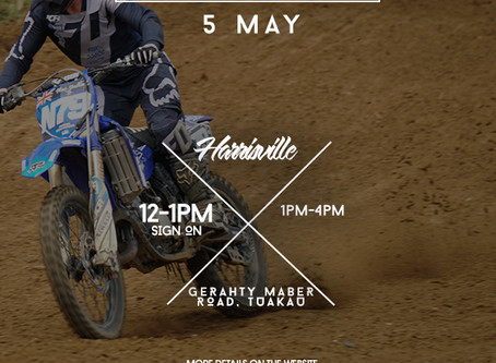 Harrisville Practice Day - Saturday 5 May