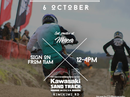 Last Practice at Kawasaki Sand Track