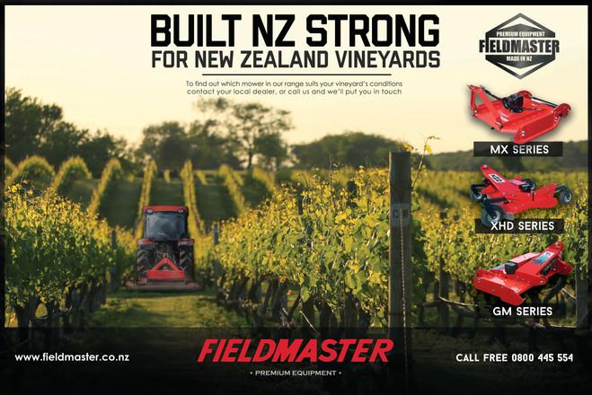Fieldmaster Vineyard Mower advert