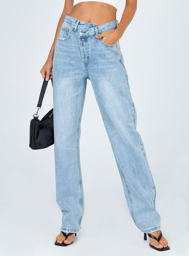 Holly asymmetrical jean