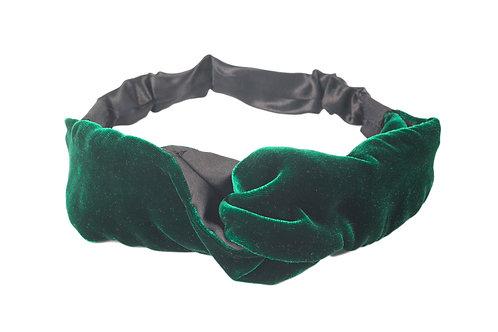 Banda Terciopelo Verde