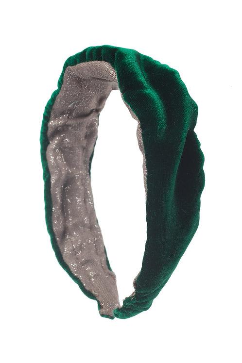 Diadema Terciopelo Verde