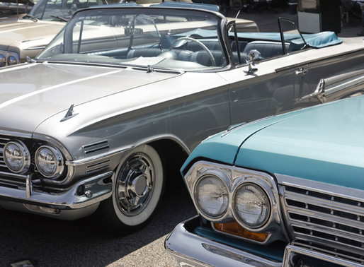 Finishing Touches For The Classic Car Show Friday, September 6th from 4-7pm at The Point