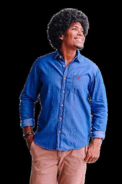 Camisa Jeans ML