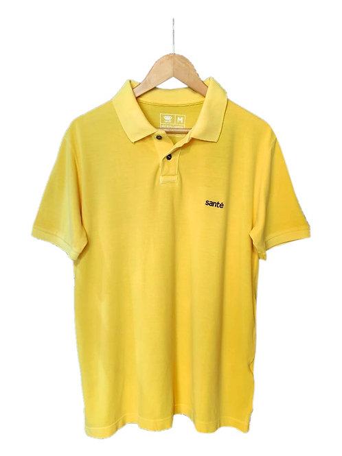 Polo Piquet Amarela