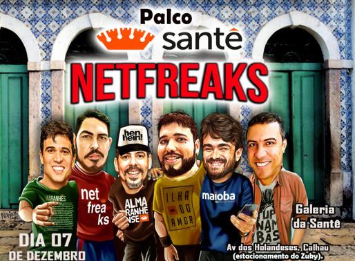 Banda Netfreaks faz show no projeto Palco Santê neste sábado