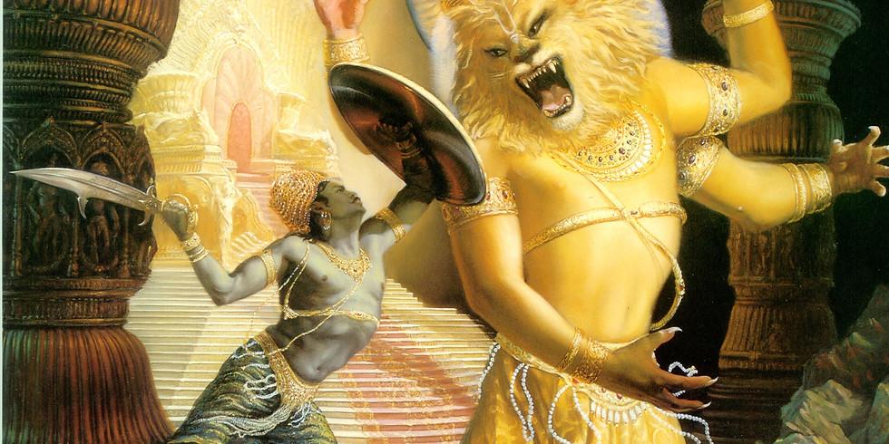 Appearance of Lord Sri Nrsimhadeva   Fast Till Noon