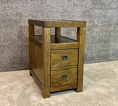 England Furniture End Table Oak Finish