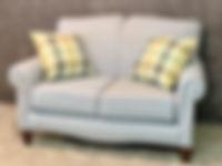 England Furniture Love Seat Joshua Platinum