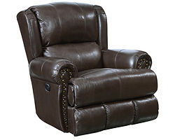 4763 Catnapper Duncan Leather Recliner.j