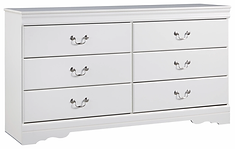 Ashley B129 Anarasia White Dresser.webp