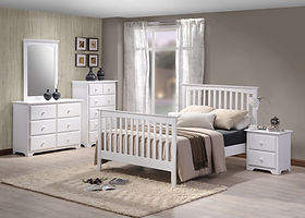 Amesbury Bedroom Group White