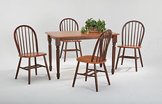 Dining room CCN3048 table and chair set.