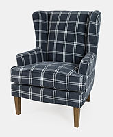 Lacroix Navy Accent Chair Jofran Blue.jp