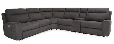 Power Reclining Sectional Furniture Ellsworth Richard Parks