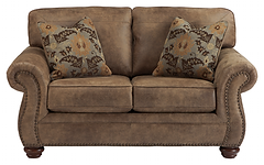 Living room love seat ashley larkinhurst