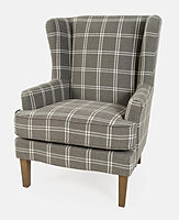 Lacroix Graphite Accent Chair Jofran.jpg