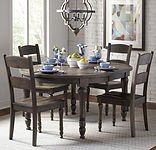 Dining room Madison County oval table an
