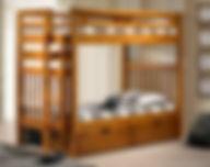 Sacramento Bunk Bed Pecan.jpeg
