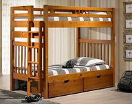 Sacramento Bunk Bed Pecan.jpeg