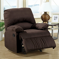 Coaster 600226 Recliner Chocolate.webp