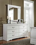 Ashley B129 Anarasia dresser with mirror