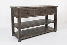 Coffee and end tables 1700-4 barnwood so