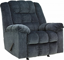 Ashley Rocker Recliner 8110525 Blue.webp
