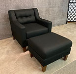 England Furniture Black Chair