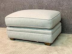 "Franklin furniture ottoman $419 33""W 19""H 26""F"
