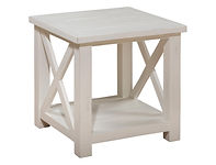 Coffee and end tables 649-3 end table wh