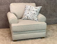 "Franklin Furniture Chair $719 44""W x 38""H x 42""D"