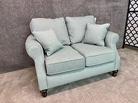 England Furniture Love Seat Shaker Seaglass