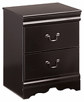 Ashley Huey Vinyard two drawer night sta