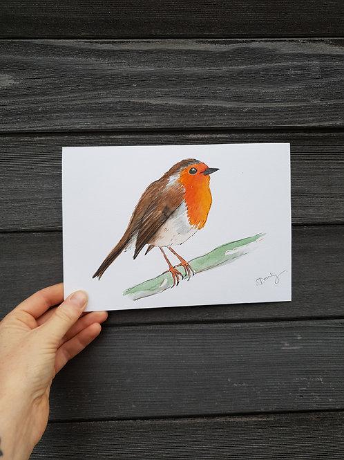 'Robin' painting