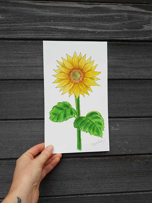 'Sunflower' painting
