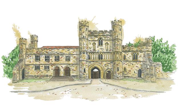 battle-abbey-watercolour-illustration-ca