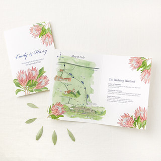 modern-tropical-wedding-stationery-and illustrated-wedding-map-sarah-dowling-bristol-illus